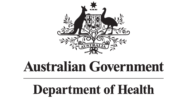 Australian Government Department of Health Logo