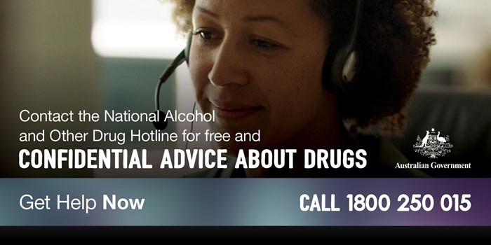 Confidential advice about drugs. Get Help Now. Call 1800 250 015